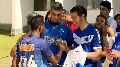 Jogadores do Cruzeiro explicam motivos do sucesso do time - Jogadores do Cruzeiro tentam explicar alguns motivos do sucesso do time no Campeonato Brasileiro
