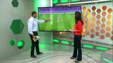 Márcio Chagas comenta lance que originou gol da vitória do Ceará sobre o Internacional - Comentarista também lança blog sobre arbitragem no globoesporte.com/rs.