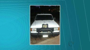 Polícia Rodoviária Federal recupera camionete - O veículo estava na região da Ponte da Amizade
