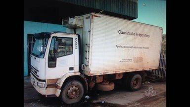 Ministério da Pesca no AP recolhe caminhões frigoríficos que estavam cedidos à Pescap - A Superintendência do Ministério da Pesca no Amapá suspendeu o termo de cessão e recolheu três caminhões frigoríficos que estavam cedidos a Agência de Pesca do estado. Pescadores reclamaram que os veículos não estariam atendendo a categoria.