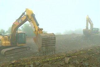 BR-153 deve ser liberada na segunda-feira (4) - Pavimentação deve ser finalizada durante este final de semana.