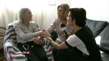 Conheça a história de amor e dedicação de Ana Heloísa para com a mãe, Dona Izabel - Senhora de 93 anos foi diagnosticada com Mal de Alzheimer