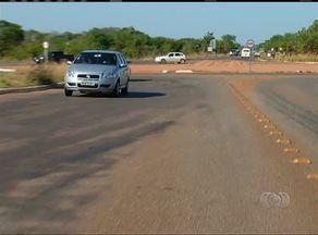 Falta de sinalização e infraestrutura em uma entrada de Palmas é motivo de preocupação - Falta de sinalização e infraestrutura em uma entrada de Palmas é motivo de preocupação
