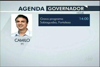 Candidatos ao governo cearense cumprem agenda da campanha eleitoral nesta quinta-feira - Quatro candidatos concorrem ao cargo de governador do Ceará.