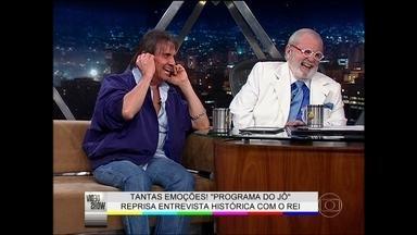 São tantas emoções! Roberto Carlos no Programa do Jô - Veja o Rei em entrevista histórica com Jô Soares