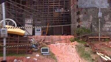 Casas de bairro de Aracaju sofrem com a forte chuva - Casas de bairro de Aracaju sofrem com a forte chuva.