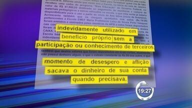 Diretora é suspeita de desviar R$ 37 mil de verba destinada a escola - Suspeita era responsável por escola no bairro Rio Comprido, em Jacareí. Dinheiro era destinado a compra de material e pagamento de monitores.
