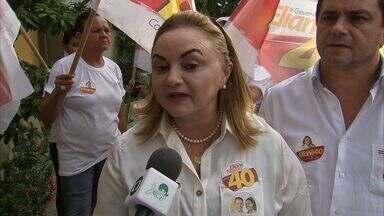Eliane Novais defende a preservação do Parque do Cocó, em Fortaleza - CETV acompanha o dia a dia dos candidatos.