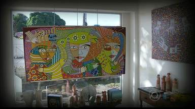 JPB2/JP: Artistas paraibanos participam de exposição de arte Naif - As obras podem ser vistas na Galeria Gamela, no bairro de Tambaú, até o próximo dia 30.