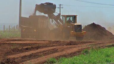 Obras de duplicação de rodovia devem durar até agosto de 2015 em MS - Inicialmente, serão 81 quilômetros de novas pistas em vários municípios.