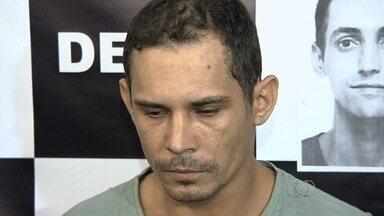 Polícia apresenta suspeito de ter praticado, pelo menos, 16 estupros em Goiânia - Homem era foragido do regime semiaberto. Delegada reforça que vítimas que reconhecerem o suspeito, procure as delegacias da mulher.