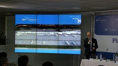 Concessionária promete novo terminal no Aeroporto de Confins até 2016 - Empresa começou a assumir terminal