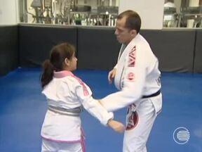 Crianças iniciam cedo no jiu-jitsu - Crianças iniciam cedo no jiu-jitsu