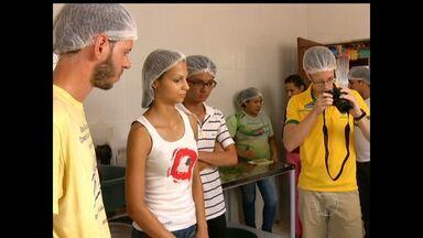 Intercambistas estrangeiros participam de trabalho voluntário na creche Seara em Santarém - Há muitos anos, os trabalhos desenvolvidos pela creche no combate à desnutrição infantil atrai o interesse de organizações internacionais.