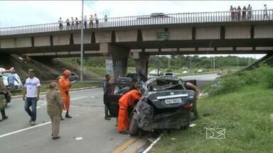 Detran registra um aumento no número de acidentes de trânsito na grande São Luís - Até o início deste mês, já foram registradas quase dezessete mil ocorrências.