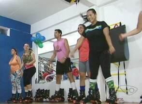 'Kango jump' atrai seguidores em Cachoeiro, no Sul do ES - A nova modalidade promete benefícios como condicionamento físico e queima de calorias.