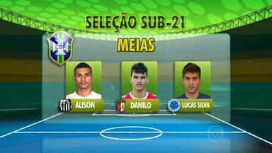 Dois do Cruzeiro e um ex-cruzeirense são convocados para a seleção sub-21 - Técnico Alexandre Gallo da seleção brasileira sub-21 convoca Lucas Silva e Alisson e o ex-cruzeirense Vinícius Araújo para amistosos
