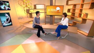 O tema é... o tempo da criança - Sandra Annenberg recebe a psiquiatra Ivete Gattás, para discutir o tempo da criança