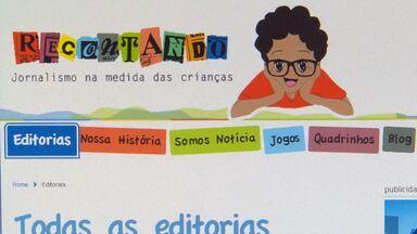 Recontando: site traduz as notícias para as crianças - Página na internet publica reportagens especializadas na linguagem dos pequenos