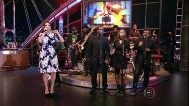 Musical de encerramento com Ivete Sangalo - Na ocasião, cantora comemorava 20 anos de carreira