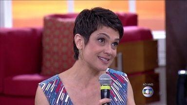 Sandra Annemberg relembra carreira como atriz mirim - Lair Ribeiro mostra bastidores de doações do Criança Esperança
