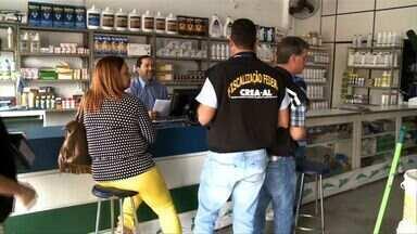 Fiscalização do Crea e da Adeal encontra irregularidades em Arapiraca - O município de Arapiraca, no Agreste de Alagoas, foi o primeiro a ser visitado pelos técnicos dos órgãos competentes.