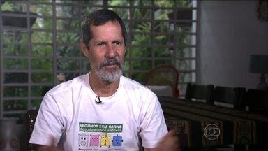 Eduardo Jorge é entrevistado no Jornal Nacional - A entrevista com o candidato do PV faz parte de uma série com os candidatos à Presidência que têm menos de 3% nas pesquisas de intenção de voto.