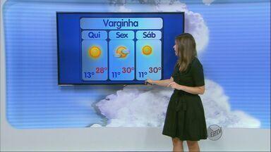 Confira a previsão do tempo no Sul de Minas para esta quinta-feira (21) - Confira a previsão do tempo no Sul de Minas para esta quinta-feira (21)