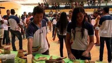 Alunos da Escola Municipal Nossa Senhora do Pilar participam do AL TV na Sala de Aula - Alunos aprenderam como previnir doenças com uma alimentação saudável.