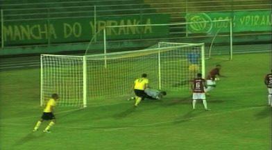 Futebol: Ypiranga e Guarani-VA ficam no 0 a 0 na Copa Fernandão - Assista ao vídeo.