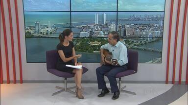 Padre João Carlos faz show no Recife - Veja entrevista dele ao NETV.