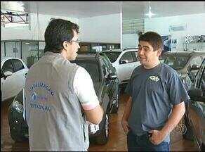 Procon fiscaliza concessionárias de carros em Gurupi - Procon fiscaliza concessionárias de carros em Gurupi