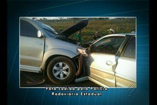 PRE registrou dois acidentes na PA-275, próximo a Curionópolis - Delegacia de Curionópolis vai investigar as causas do acidente.