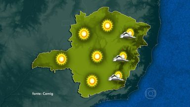 Sábado ensolarado e de muito calor - Os termômetros em Belo Horizonte devem chegar aos 28°C.