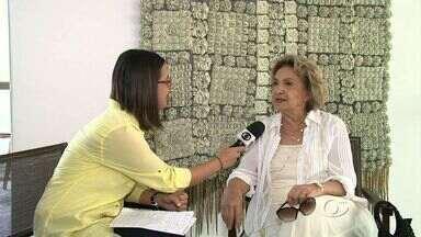 Eva Wilma estrela espetáculo 'Azul Resplendor' neste fim de semana em Maceió - Atriz celebra 60 anos de carreira e 80 de vida. São duas apresentações no Teatro Deodoro no sábado (23) e domingo (24).