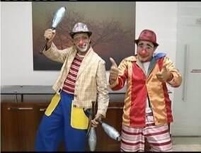 Comédia Atrapalhadas de Risadinha e Gargalhada é exibida neste sábado em Ipatinga - Espetáculo é para crianças e adultos.