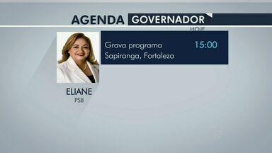 Candidatos ao governo cearense cumprem agenda de campanha nesse sábado - Quatro candidatos concorrem ao cargo de governador do Ceará.