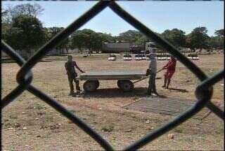 Parque de diversão onde jovem morreu é desmontado em Fortaleza - Polícia Civil instaurou um inquérito e tem até 30 dias para concluí-lo.