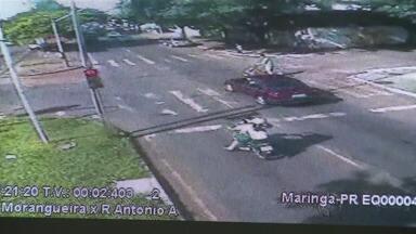 Número de multas por avanço de sinal de vermelho em Maringá já é quase maior que em 2013 - Secretaria de Trânsito e Segurança deve intensificar a fiscalização