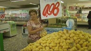 Preço da batata tem redução de cerca de 20% nos últimos dias - Preço da batata tem redução de cerca de 20% nos últimos dias
