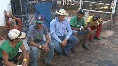 Peões voltam à arena na Festa do Peão de Barretos, SP - Objetivo é chegar à grande final da montaria.