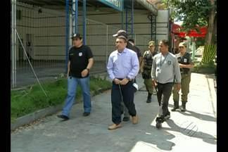 Polícia coordenou segunda reconstituição da morte do engenheiro Raimundo Lucier - O suposto mandante do crime e o homem que teria aturado no engenheiro se negaram a participar da simulação do crime.