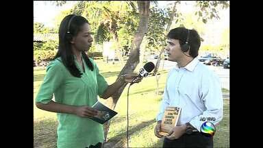 Promortor lança livro em Aracaju - Promotor Sandro Luiz da costa lança livro sobre Direito Penal.