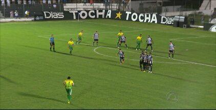 Confira gol do Treze na vitória sobre o Cuiabá - Treze vence o time mato-grossense dentro de casa, com gol de Rafael Oliveira