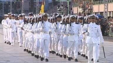 Em Manaus é comemorado dia do soldado - Data instituída em 1803 para homenagear membros do exercito brasileiro que atuam na promoção da paz e prestam auxilio a população em catástrofes e calamidades.
