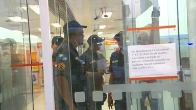 Banco é assaltado na Tijuca - De acordo com a polícia militar, os bandidos entraram na agência do banco Itaú na tarde da última terça-feira (26). O banco não divulgou a quantia roubada. Ninguém ficou ferido.