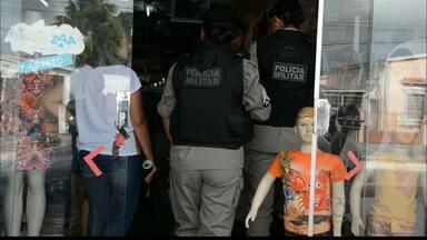 JPB2JP: Loja de roupas é assaltada na Capital - Bandido fugiu com dinheiro e celular da dona.