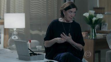 Maria Marta revela para Salviano suas reais intenções com a volta de Amanda - Ricaça quer provocar a queda de José Alfredo dentro da Império