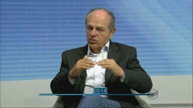 Candidato Pimenta da Veiga (PSDB) é entrevistado pelo Jornal da EPTV - Candidato Pimenta da Veiga (PSDB) é entrevistado pelo Jornal da EPTV