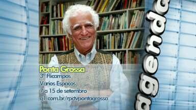 Ziraldo vem a Ponta Grossa na semana que vem - Veja outras atrações na agenda cultural.